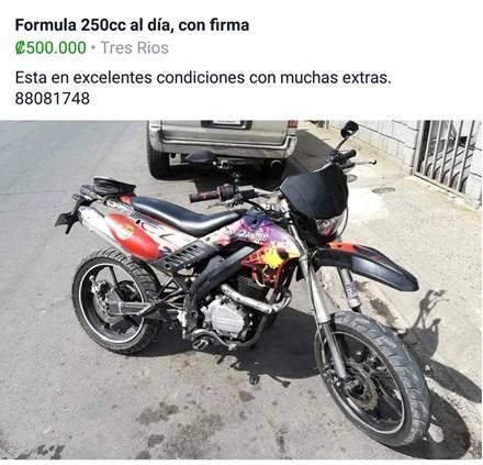Images of Formula XLF 250