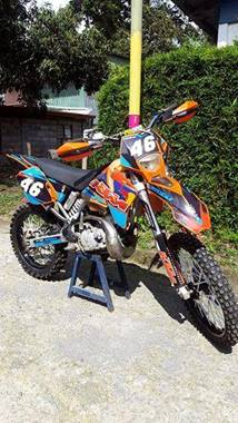 Picture of KTM 200 EXC