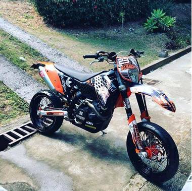 Picture of KTM 530 EXC