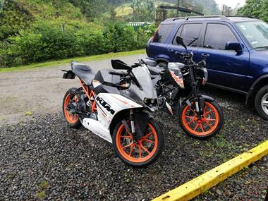 Picture of KTM RC390